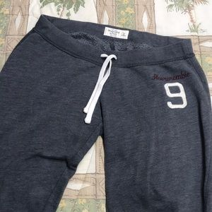Abercrombie & Fitch Gray Jogger Sweat Pants